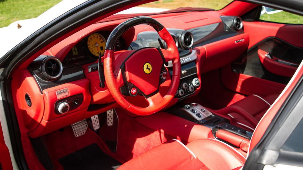 subasta Ferrari 599 GTB Fiorano interior