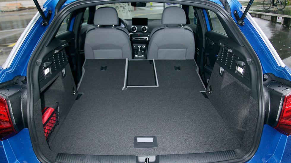 Audi Q2 piloto maletero