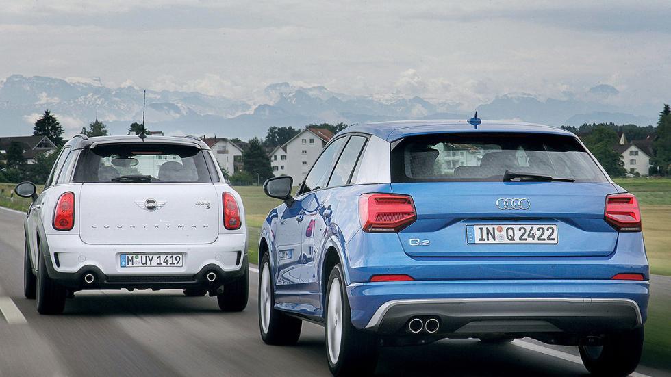 1 Cara a cara: Audi Q2 vs Mini Countryman
