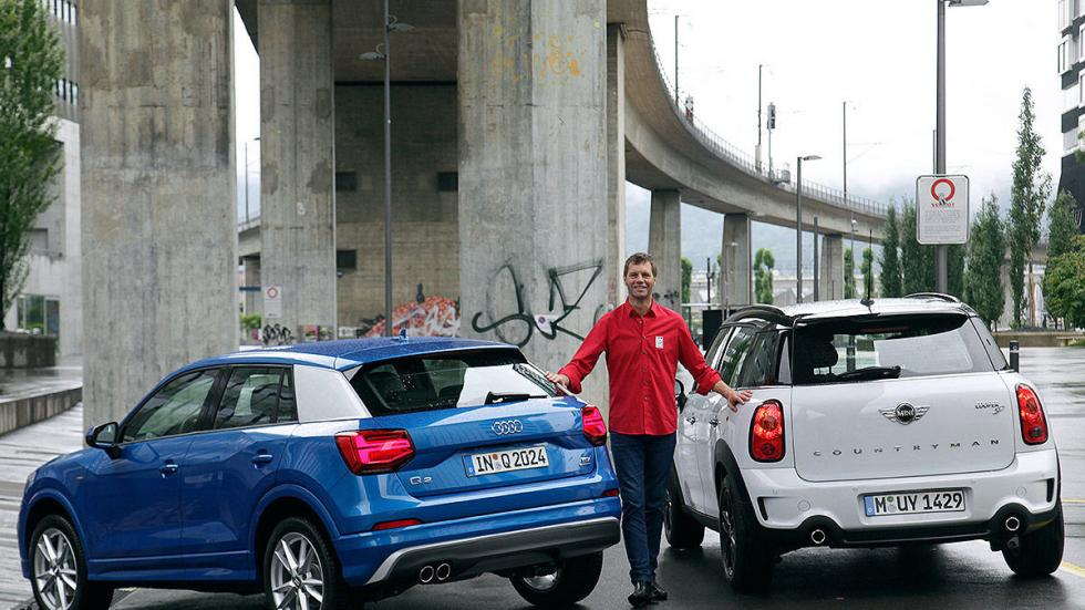 2 Cara a cara: Audi Q2 vs Mini Countryman