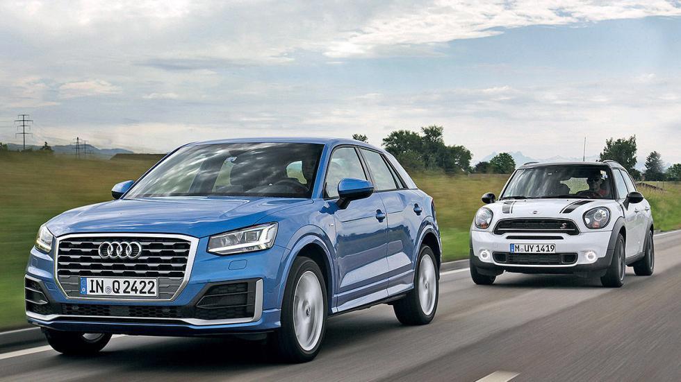 Cara a cara: Audi Q2 vs Mini Countryman