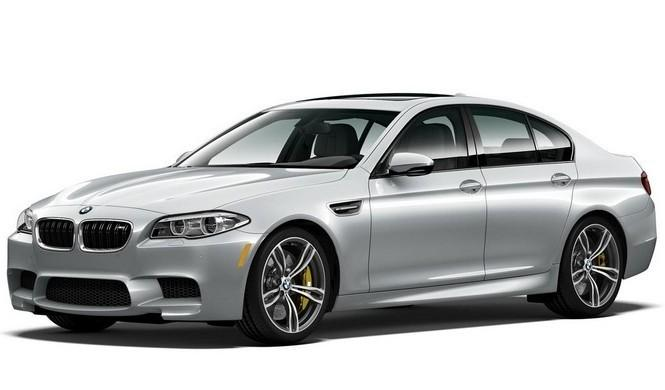 BMW M5 Pure Metal Silver