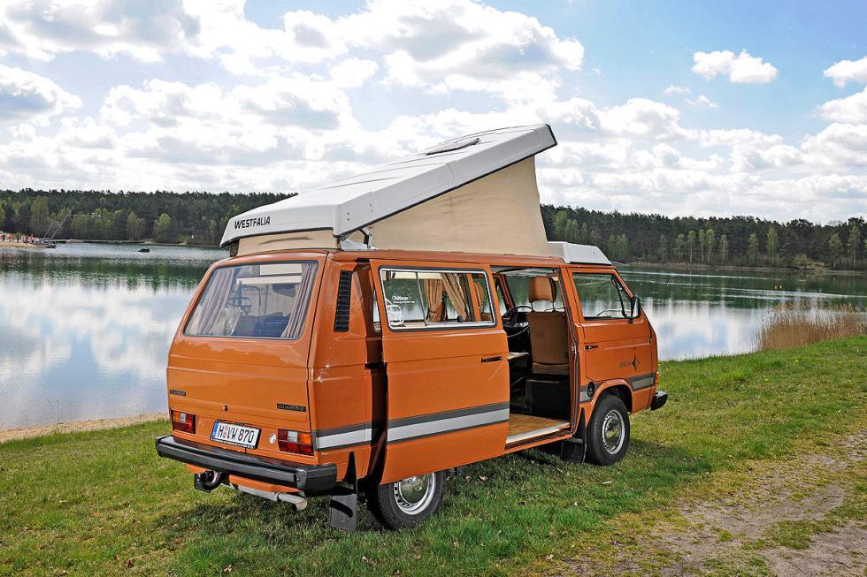 Las mejores Volkswagen T3 para irte de vacaciones
