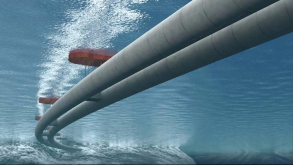 túneles flotantes