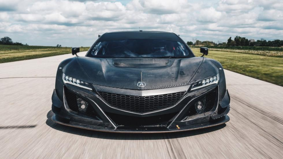 Honda NSX GT3 frontal marcha