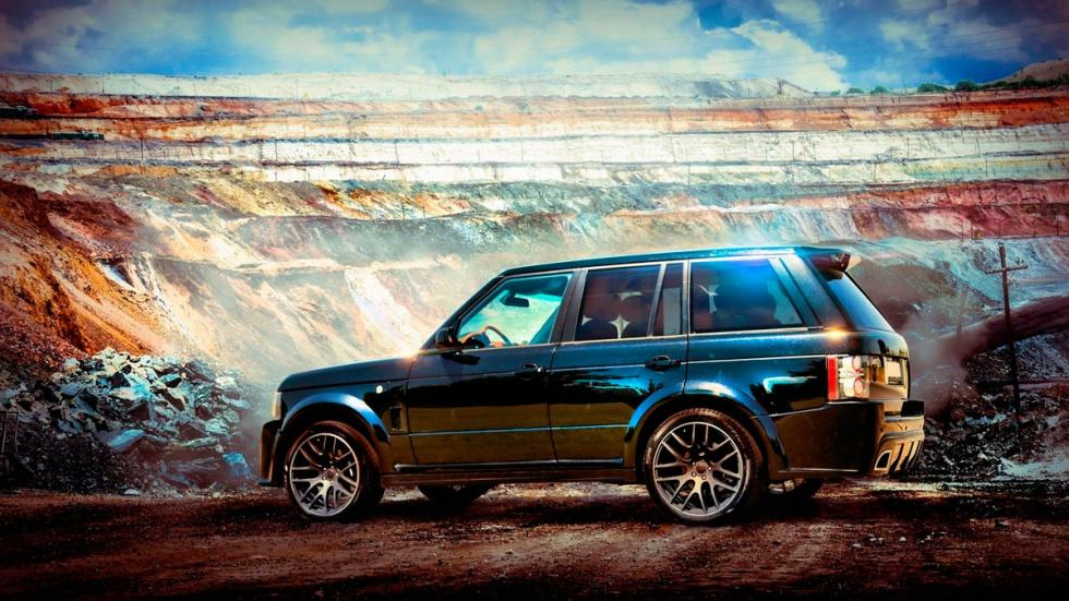 Range Rover Onyx Carbon Motors lateral