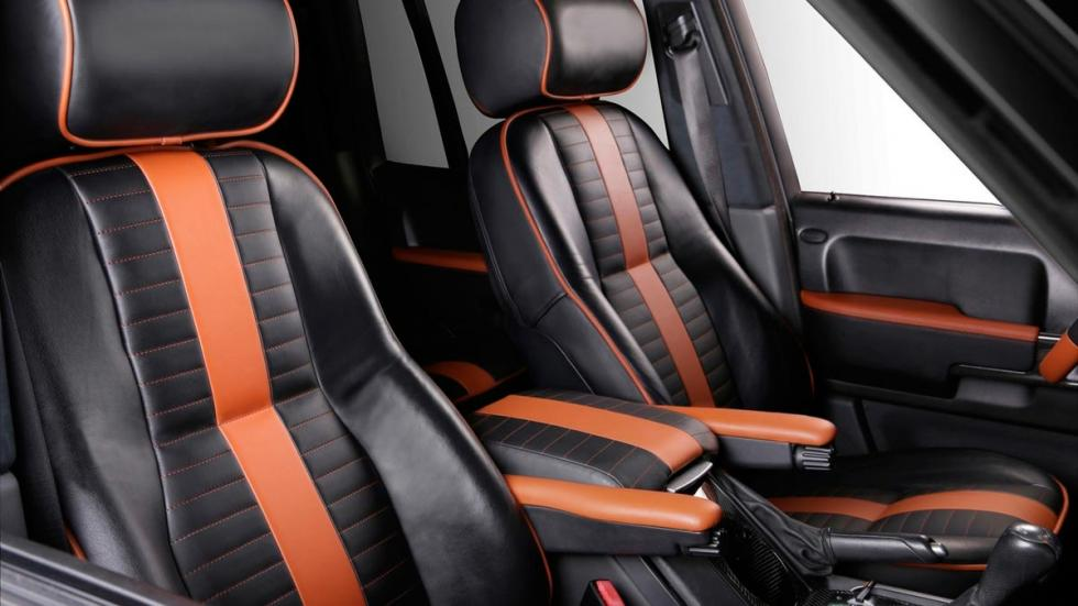 Range Rover Onyx Carbon Motors asientos