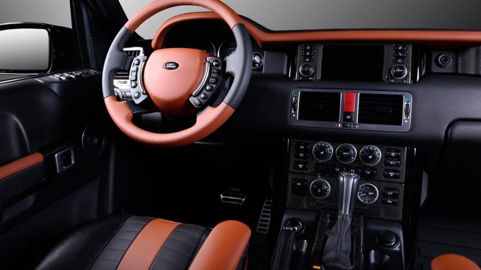 Range Rover Onyx Carbon Motors salpicadero