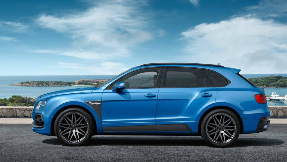 Bentley Bentayga Startech lateral