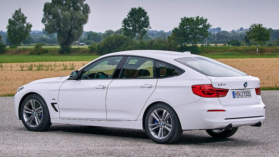 BMW 340i GT facelift (2016) lateral