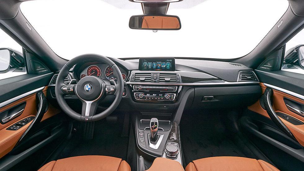 BMW 340i GT facelift (2016) interior