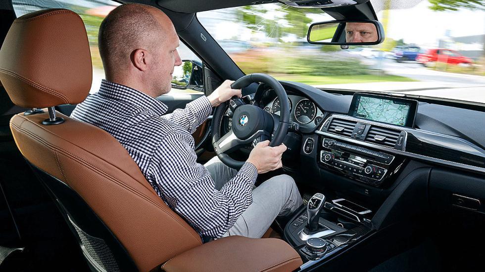 BMW 340i GT facelift (2016) cockpit