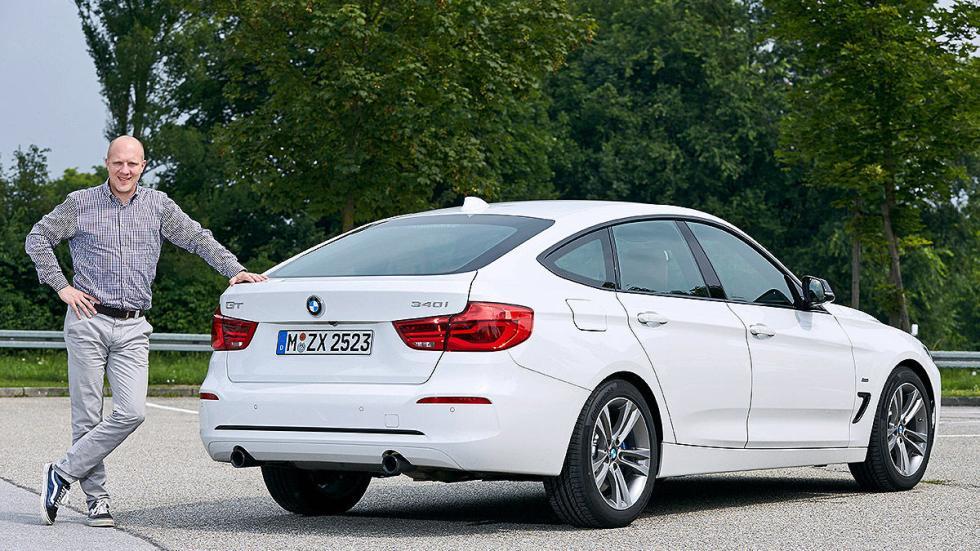 BMW 340i GT facelift (2016) 3 cuartos zaga