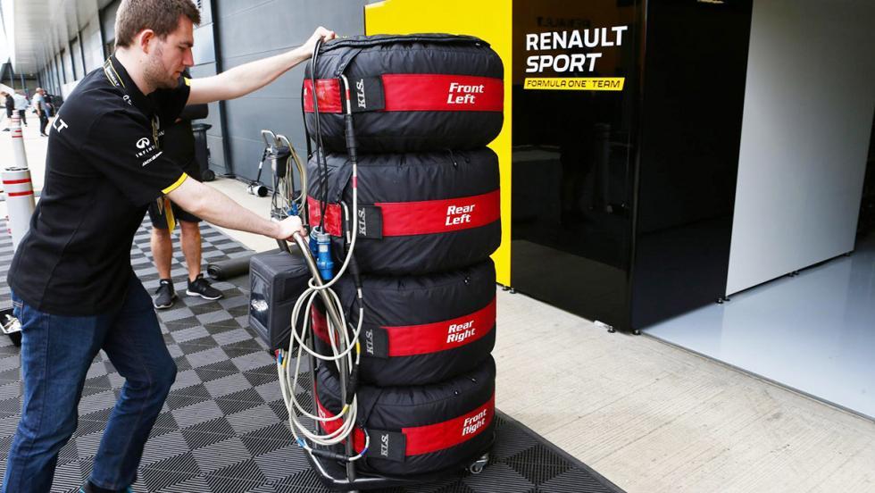Las cosas que no sabías sobre los neumáticos de la Fórmula 1