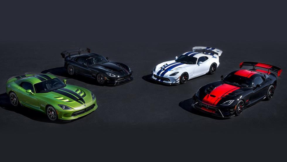 Ediciones especiales del Dodge Viper 25 Aniversario