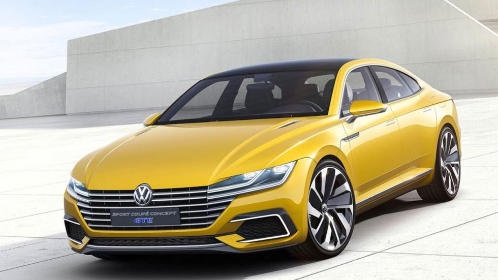 Volkswagen Sports Coupe GTE Concept tres cuartos delanteros