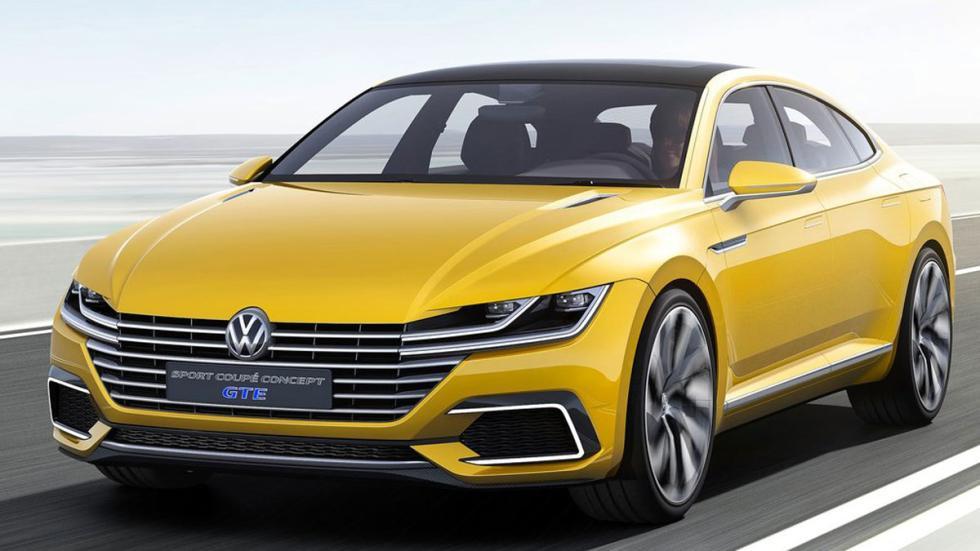 Volkswagen Sports Coupe GTE Concept tres cuartos delanteros 2