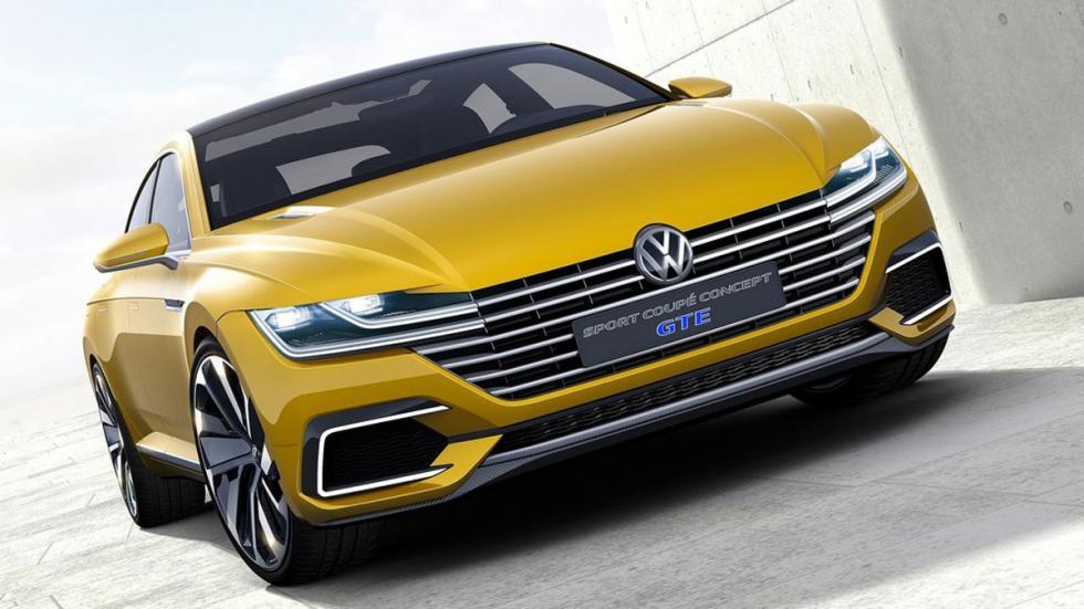 Volkswagen Sports Coupe GTE Concept tres cuartos delanteros 4