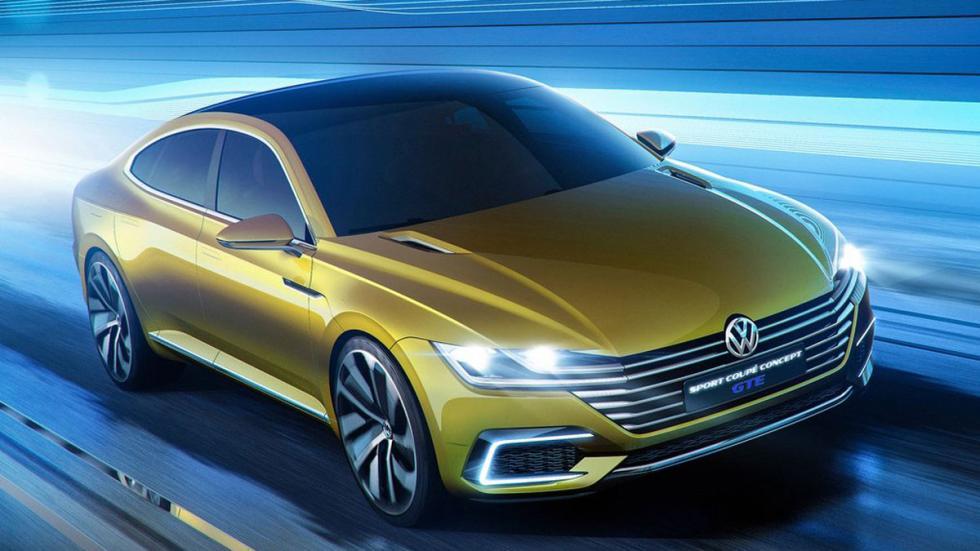 Volkswagen Sports Coupe GTE Concept tres cuartos delanteros 5