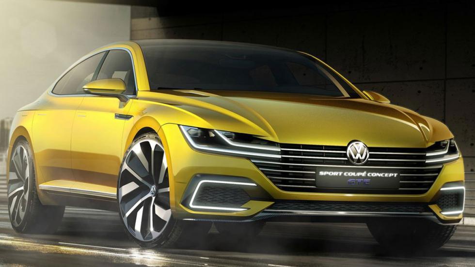 Volkswagen Sports Coupe GTE Concept tres cuartos delanteros 6