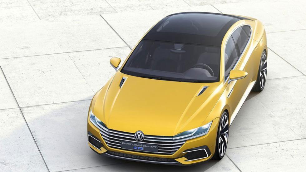 Volkswagen Sports Coupe GTE Concept aérea