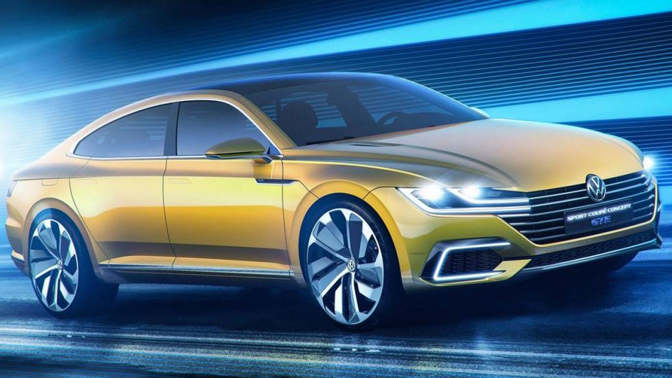 Volkswagen Sports Coupe GTE Concept lateral