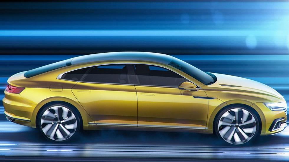 Volkswagen Sports Coupe GTE Concept lateral 2