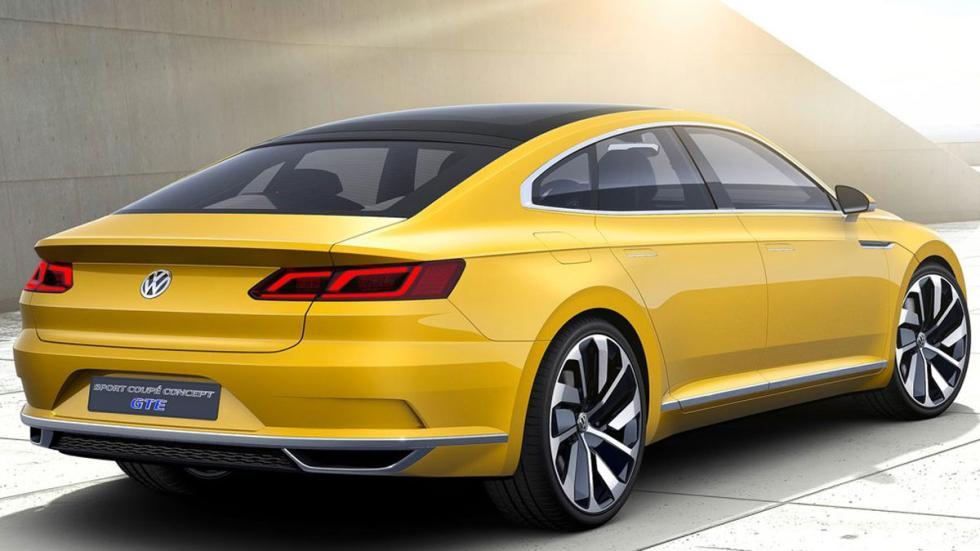 Volkswagen Sports Coupe GTE Concept tres cuartos traseros