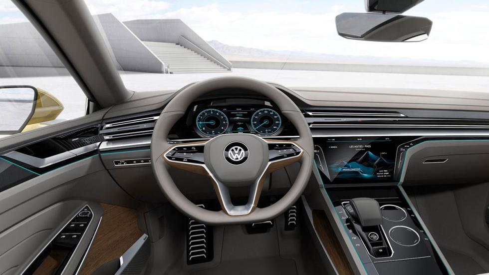 Volkswagen Sports Coupe GTE Concept interior