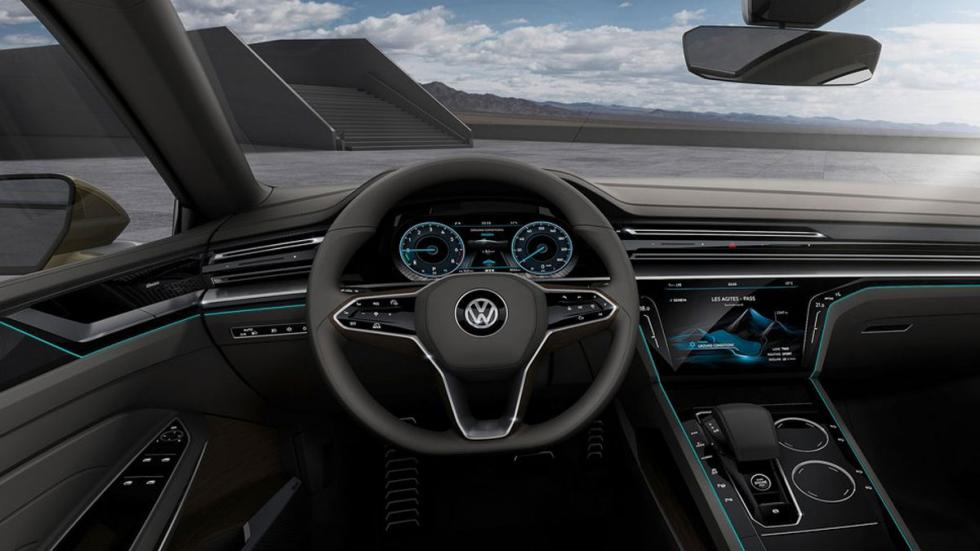 Volkswagen Sports Coupe GTE Concept interior 2