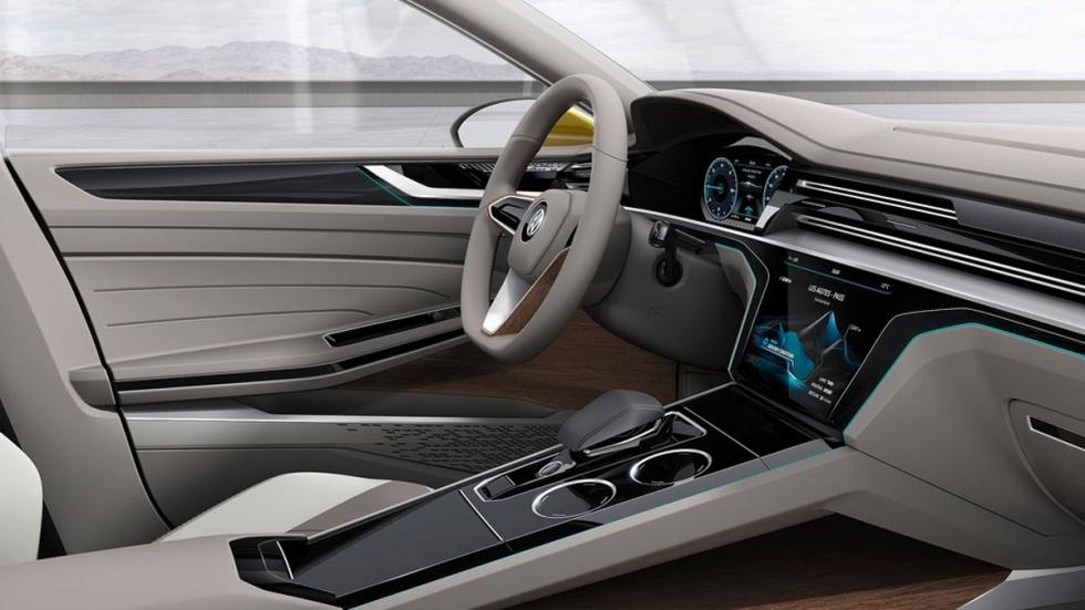 Volkswagen Sports Coupe GTE Concept interior lateral