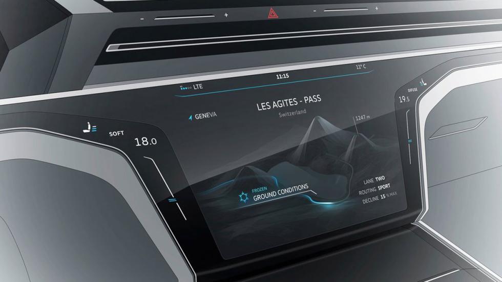 Volkswagen Sports Coupe GTE Concept detalle
