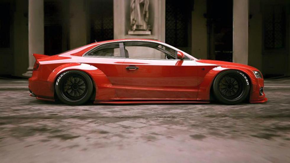 Audi A5 Liberty Walk zaga