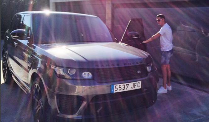 coches Cristiano Ronaldo 4