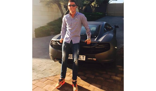 coches Cristiano Ronaldo 11