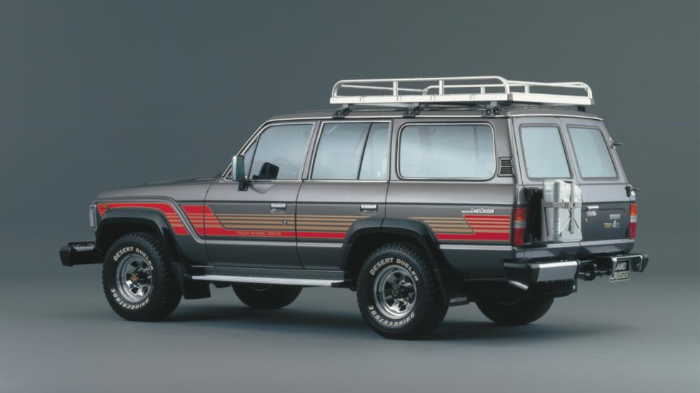 Toyota Land Cruiser lateral 90