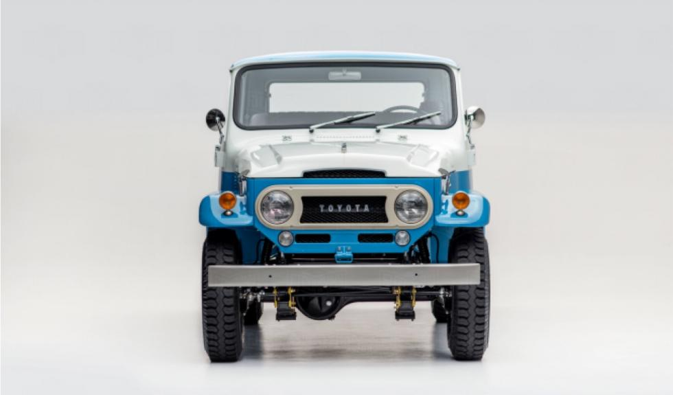 Toyota Land Cruiser de 1967 restaurado