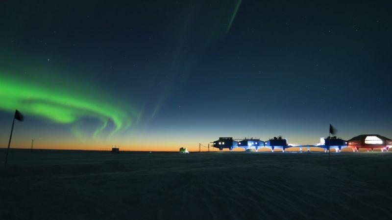 Tomada en la base Halley VI de la Antártida. Fotógrafo: Richard Inman (Reino Uni
