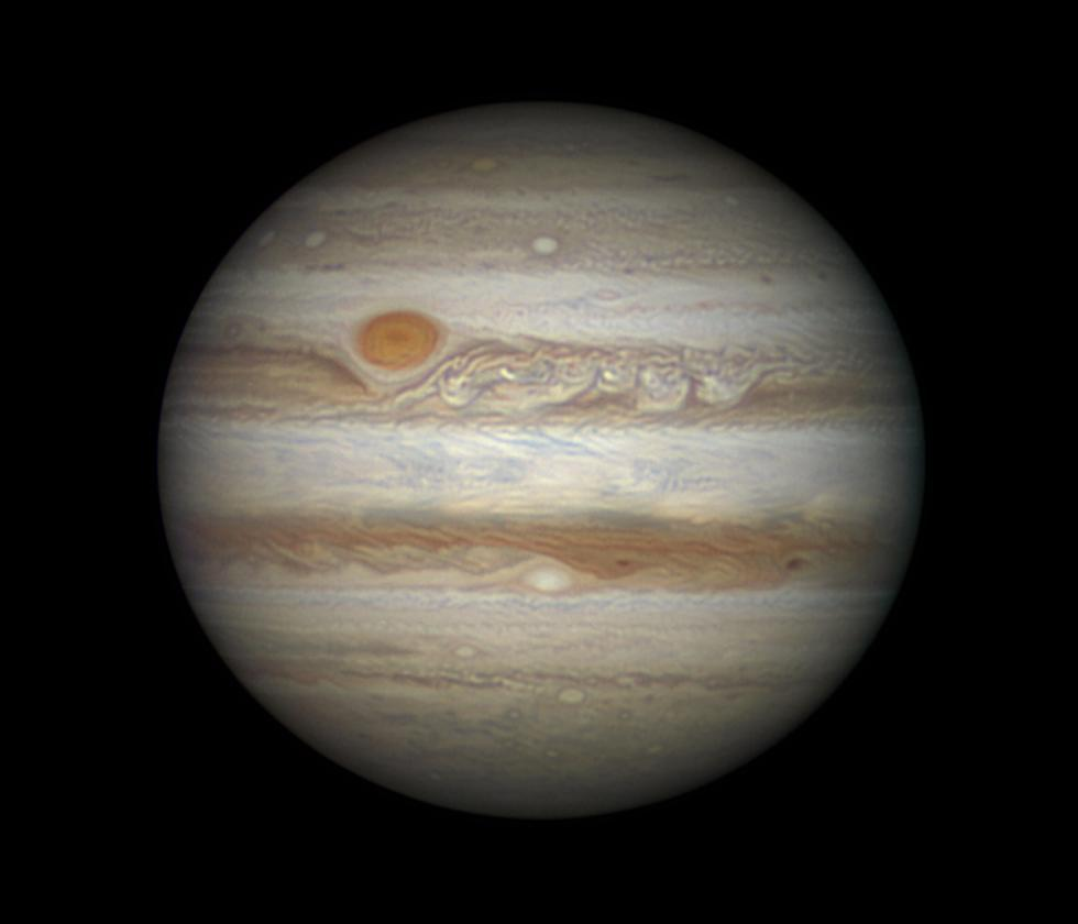 Júpiter. Fotógrafo: Damian Peach (Reino Unido)