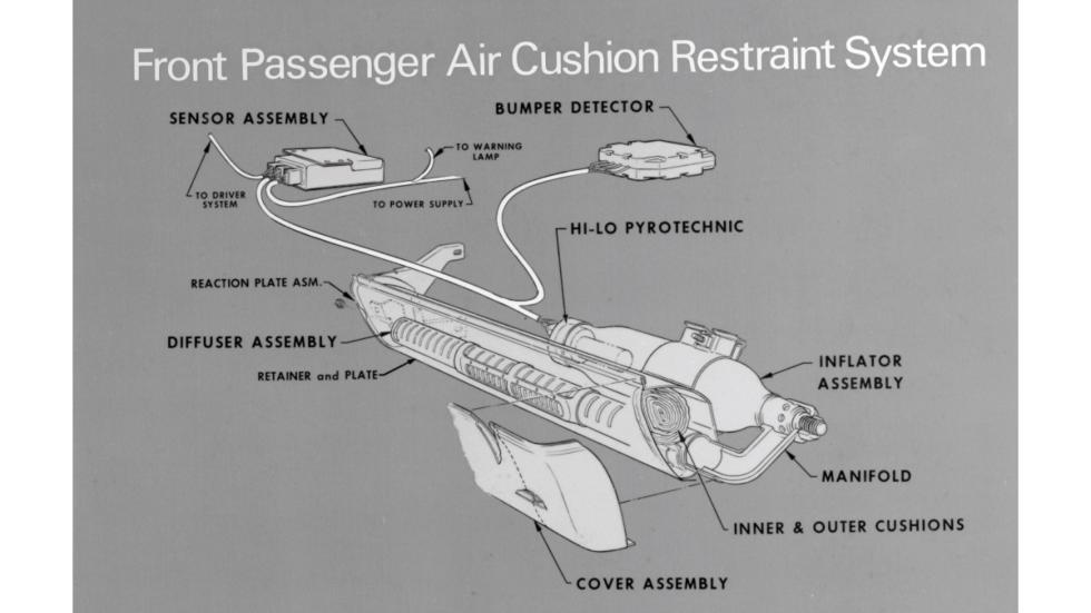 airbag comercializado por General Motors en 1973