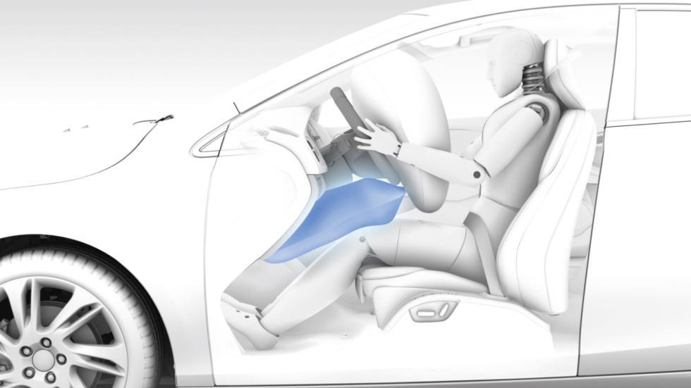 airbag principales ajustan su funcionamiento al peso y velocidad