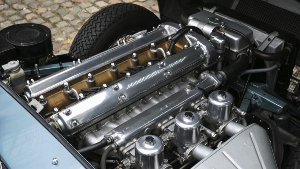 Jaguar E-Type FHC motor