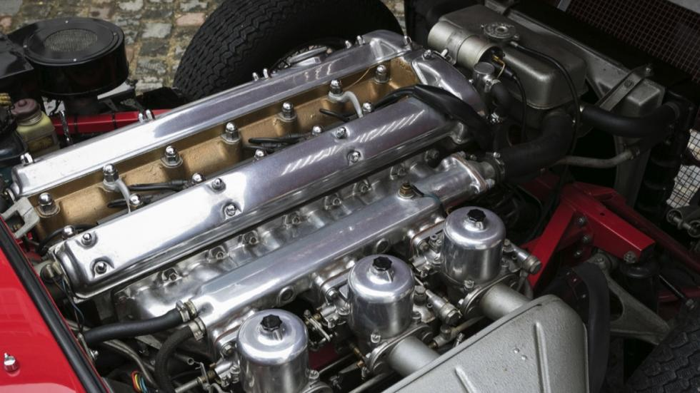Jaguar E-Type Roadster motor