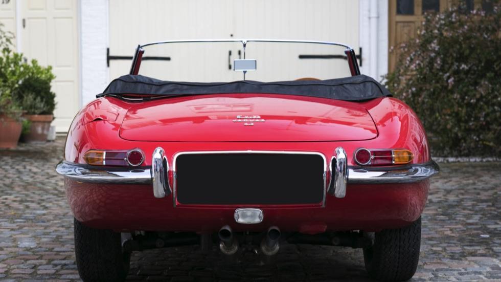 Jaguar E-Type Roadster trasera