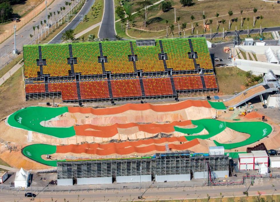Centro para las competiciones de BMX