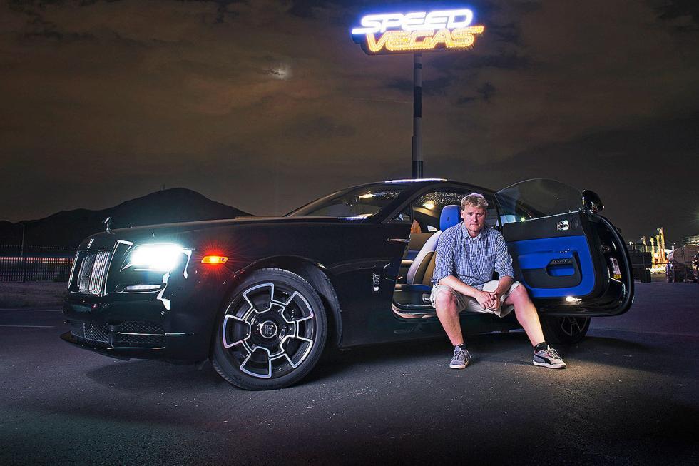 Prueba: Rolls-Royce Wraith/Ghost Black Badge zaga redactor