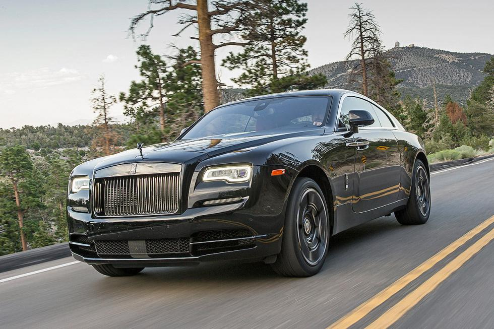 Prueba: Rolls-Royce Wraith/Ghost Black Badge