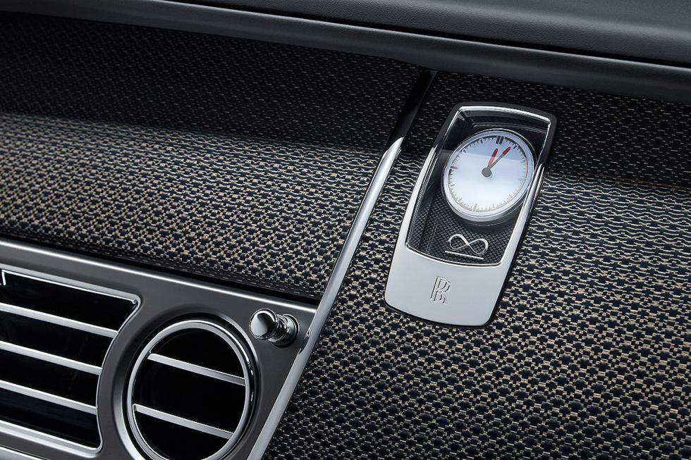 Prueba: Rolls-Royce Wraith/Ghost Black Badge detalle