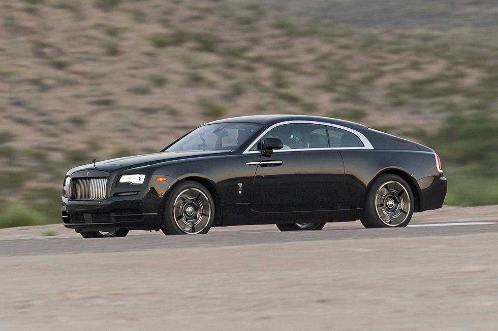 Prueba: Rolls-Royce Wraith/Ghost Black Badge detalle lateral