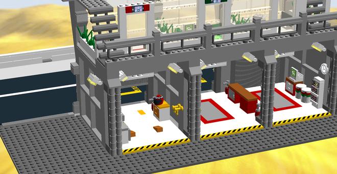 Pit de Le Mans de Lego
